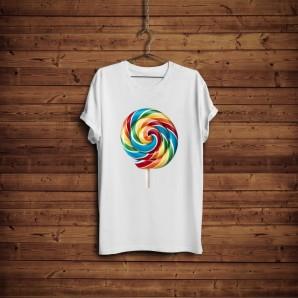 Tricou DTG `Lollipop`