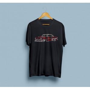 Tricou imprimat DTG Vintage Cadillac