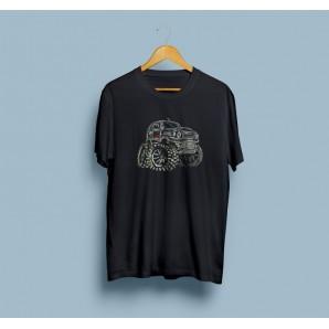 Tricou imprimat DTG Vintage Jimny