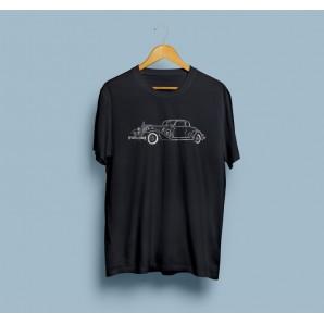 Tricou imprimat DTG Vintage Rolls Royce