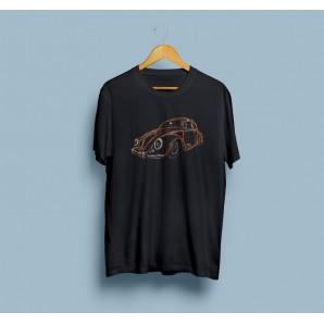 Tricou imprimat DTG Vintage WV Beetle