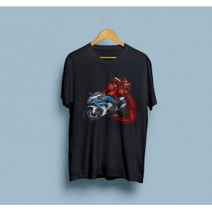 Tricou imprimat DTG Suzuki Love