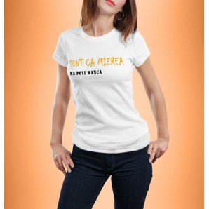 Tricou imprimat DTG Sunt ca mierea