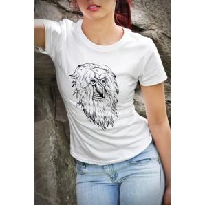 Tricou imprimat DTG Masca 2