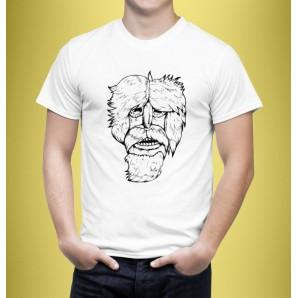 Tricou imprimat DTG Masca 3