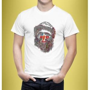 Tricou imprimat DTG Masca 4