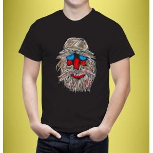 Tricou imprimat DTG Masca 9
