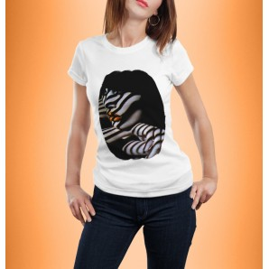 Tricou DTG Orange Lips