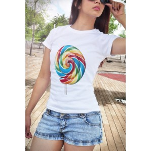 Tricou DTG `Lollipop`
