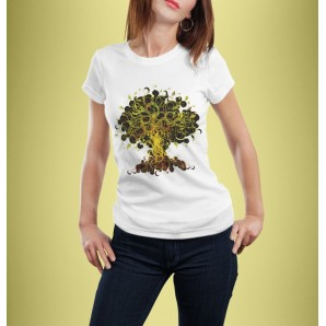 Tricou DTG `Tree of Life`