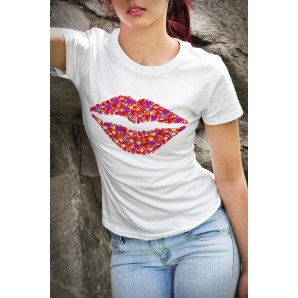 Tricou DTG Red Lips