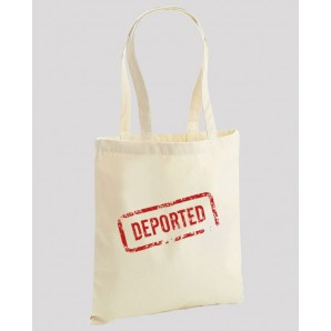 Sacosa din bumbac Deported