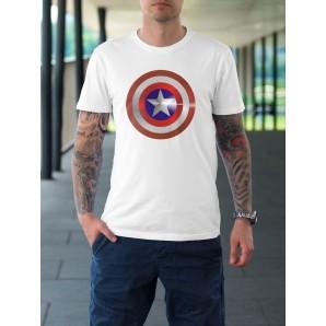 Tricou imprimat Captain America 2