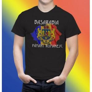 Tricou imprimat Basarabia Pamant Romanesc 2