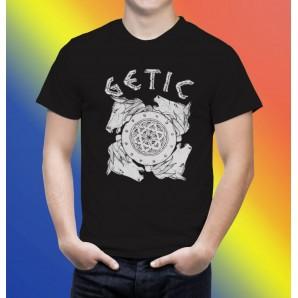 Tricou imprimat DTG Scut getic