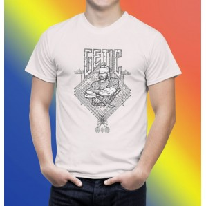 Tricou imprimat DTG Getii
