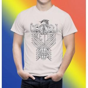 Tricou imprimat DTG Dacii