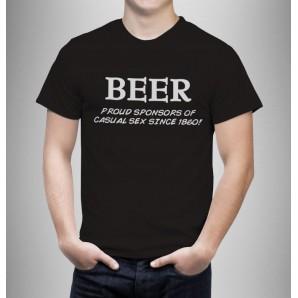 Tricou imprimat DTG Beer sponsor