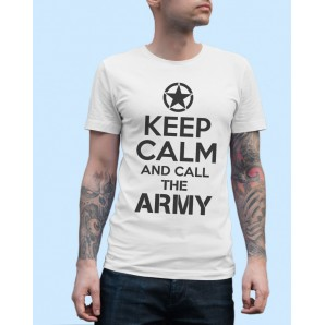 Tricou imprimat DTG Keep Calm Call the Army