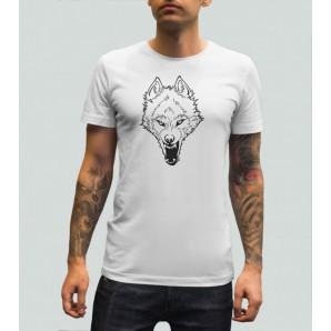 Tricou imprimat DTG Wolf