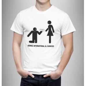 Tricou imprimat DTG Casnicie
