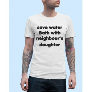 Tricou imprimat DTG Save water