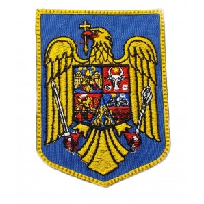 Ecuson brodat stema Romania